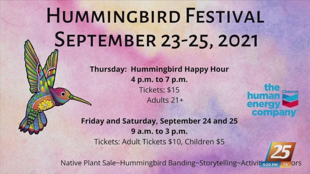 2021 Hummingbird Migration Festival
