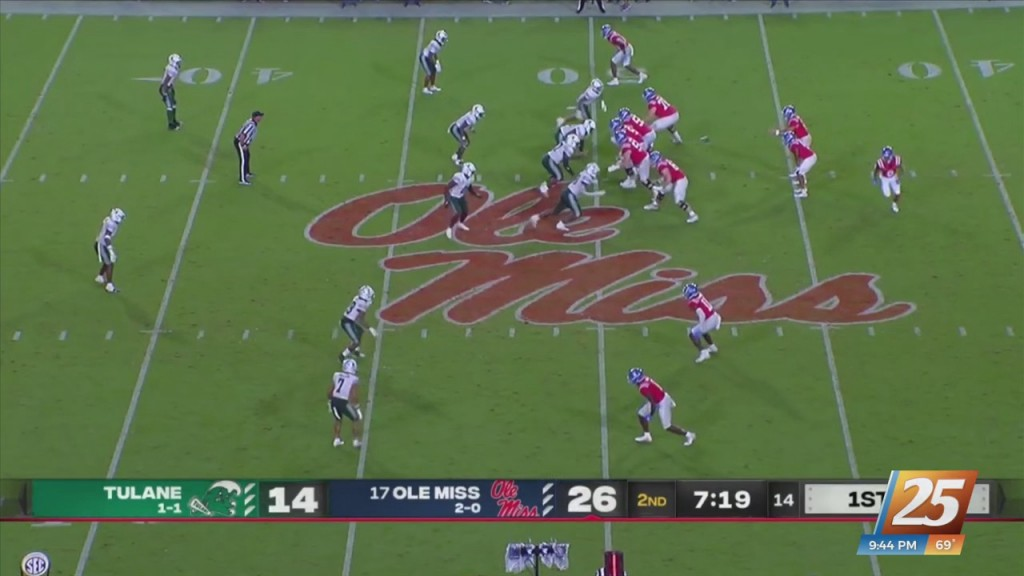 Ole Miss Leads Nation In Total Offense After Week Three