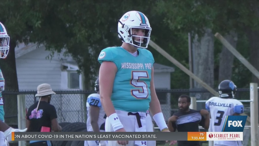 Mississippi Prep Football Dominates First Home Game Ever