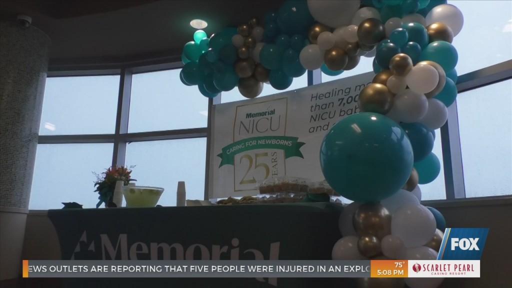 Memorial Hospital's Nicu Celebrates 25 Years