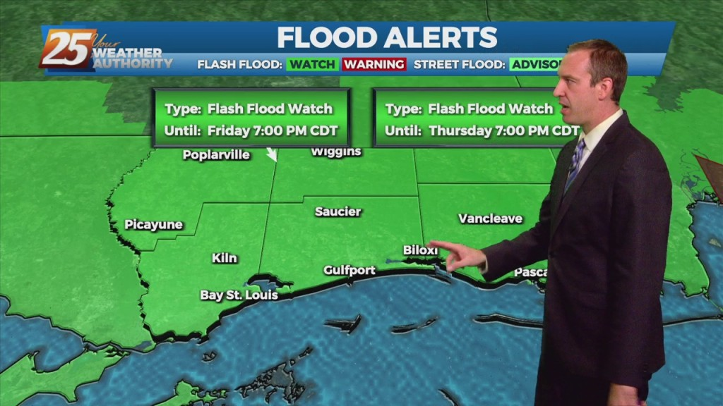 "09/15 Ryan's ""flooding Woes"" Wednesday Evening Forecast"