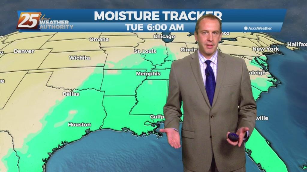 "Ryan's ""grey & Muggy"" Monday Evening Forecast"