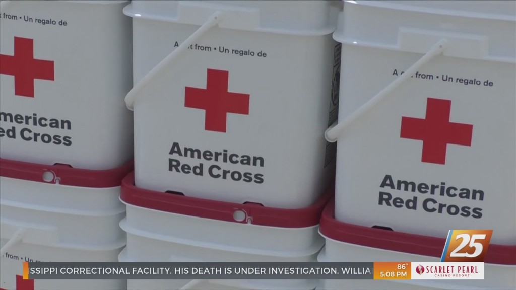 Moss Point Fire Department Teams Up With Red Cross For Relief Efforts
