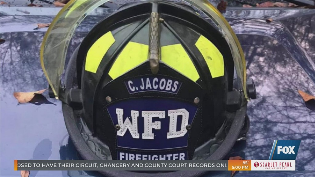 Wiggins Firefighter Clint Jacobs Dies Of Covid 19