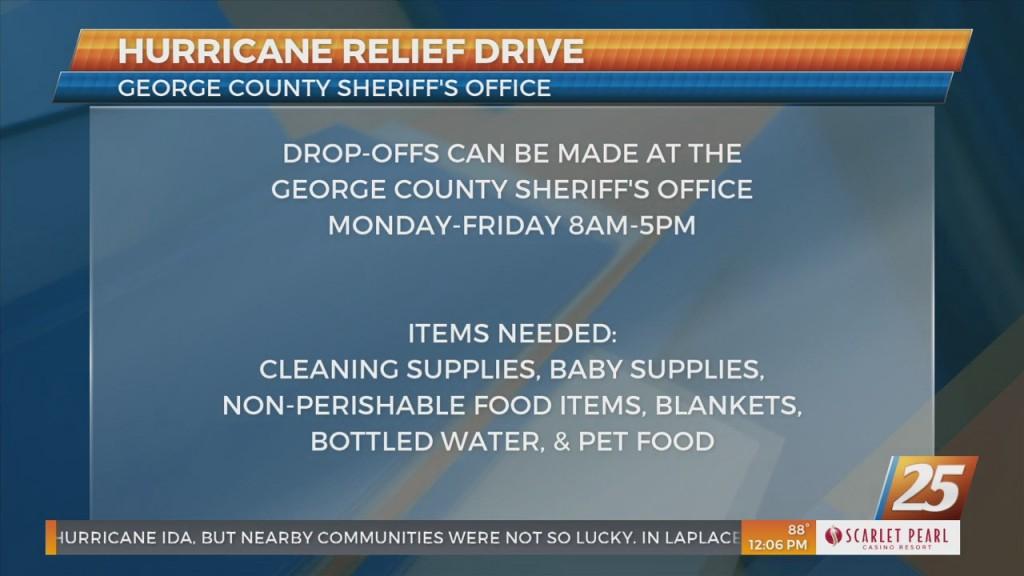 Hurricane Ida Relief Efforts Around The Gulf Coast