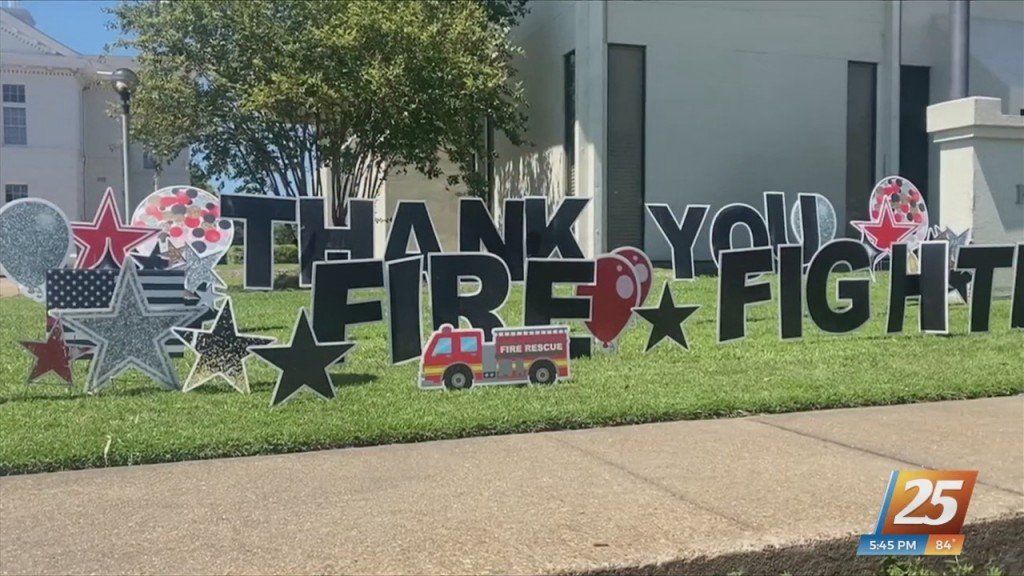 Appreciation Event For Local Fire And Police Stations