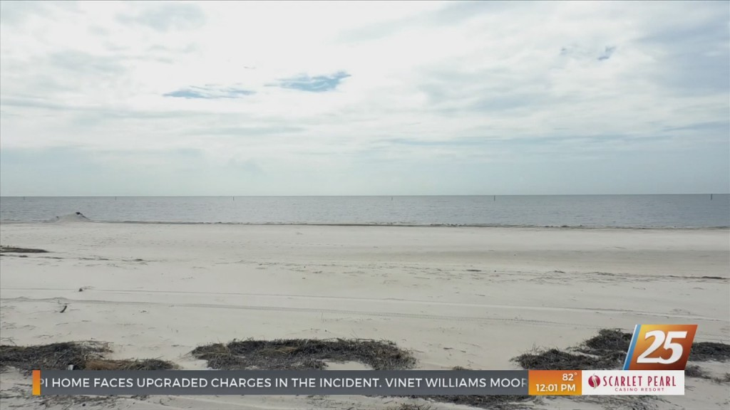 Body Found On Beach In Gulfport