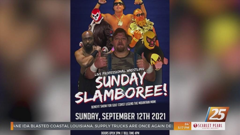 'sunday Slamboree' Wrestling Event To Benefit 'the Mountain Man'
