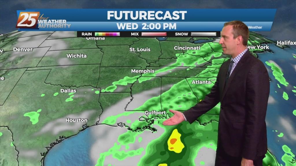 "09/07 Ryan's ""damp"" Tuesday Night Forecast"