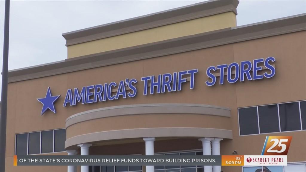 New America's Thrift Stores Shop Opens Doors In Biloxi