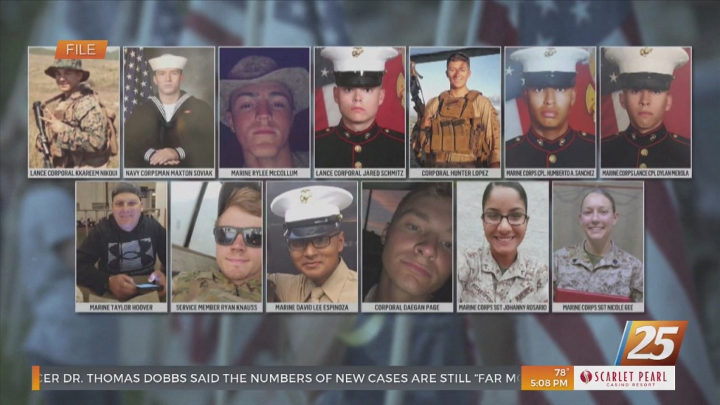 Hyde Smith Co Sponsors Proposed Bill Honoring 13 Americans Killed In Kabul