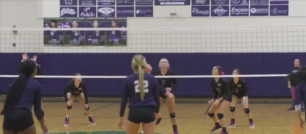 High School Volleyball: St. Patrick Vs. Our Lady Academy