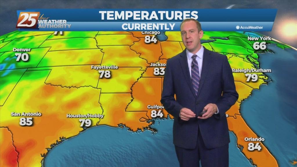 """10/01 Ryan's """"hot October"""" Friday Evening Forecast"""