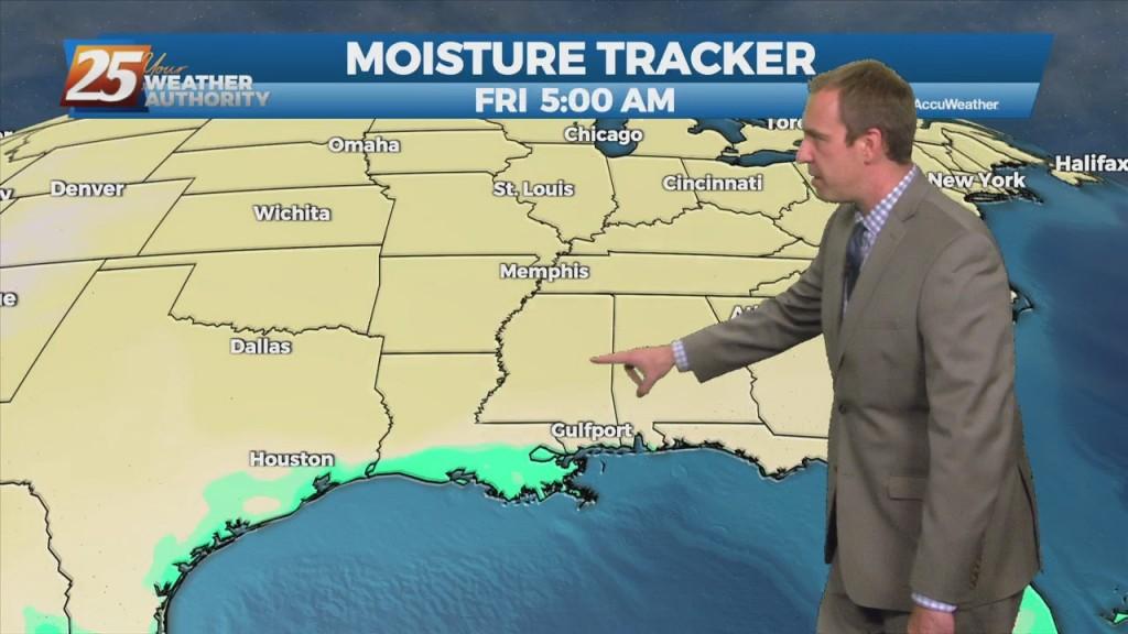 "10/20 Ryan's ""cloudy, Humid"" Wednesday Night Forecast"