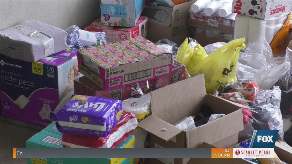Gulfport Fire Department Begins Wrapping Up Hurricane Ida Recovery Drive