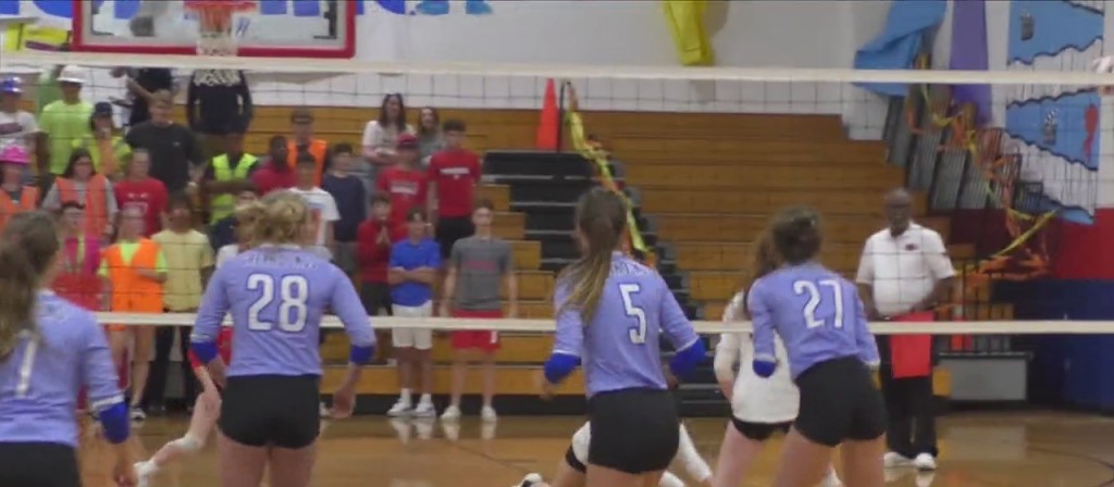 High School Volleyball: Hancock Vs. Ocean Springs