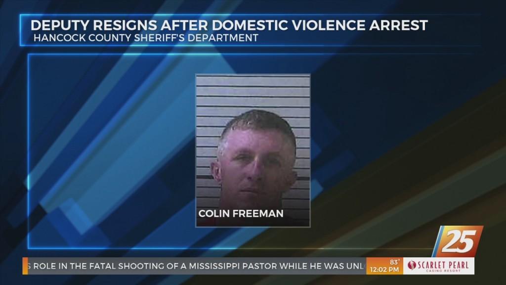Hancock County Sheriff's Deputy Resigns After Domestic Violence Arrest