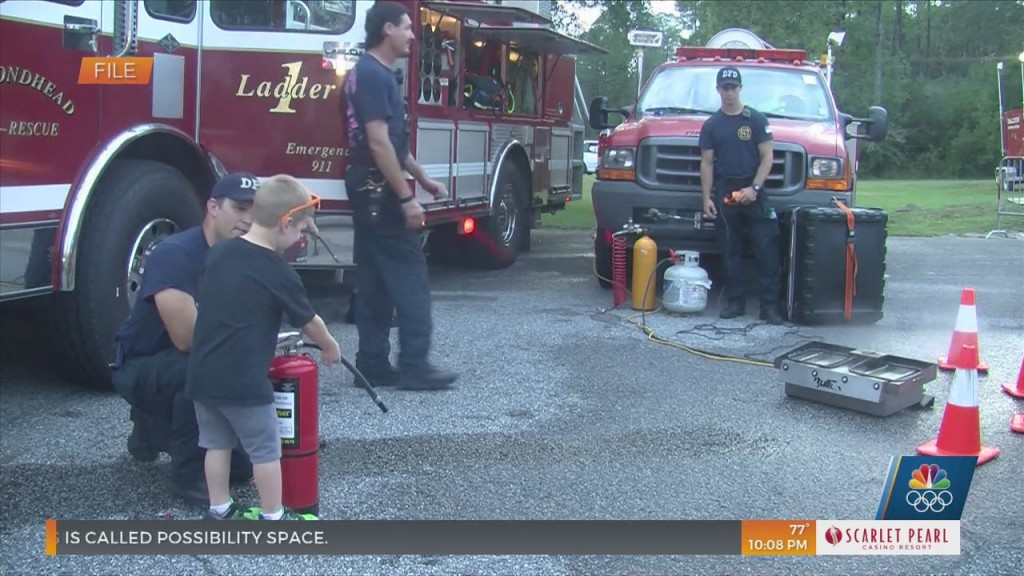 Diamondhead Pd Hosts National Night Out Block Party
