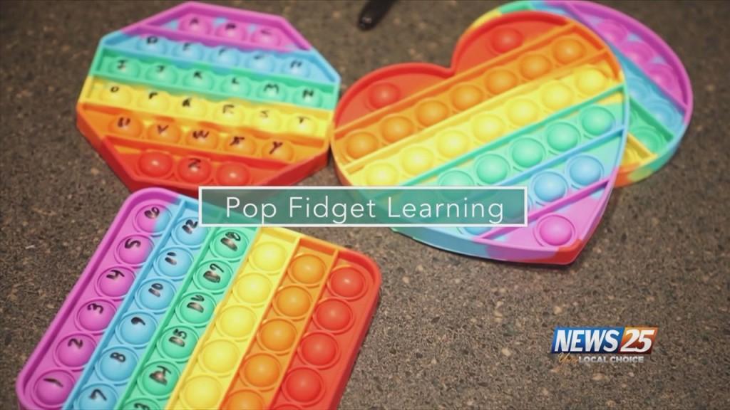 Mom To Mom: Pop Fidget Learning