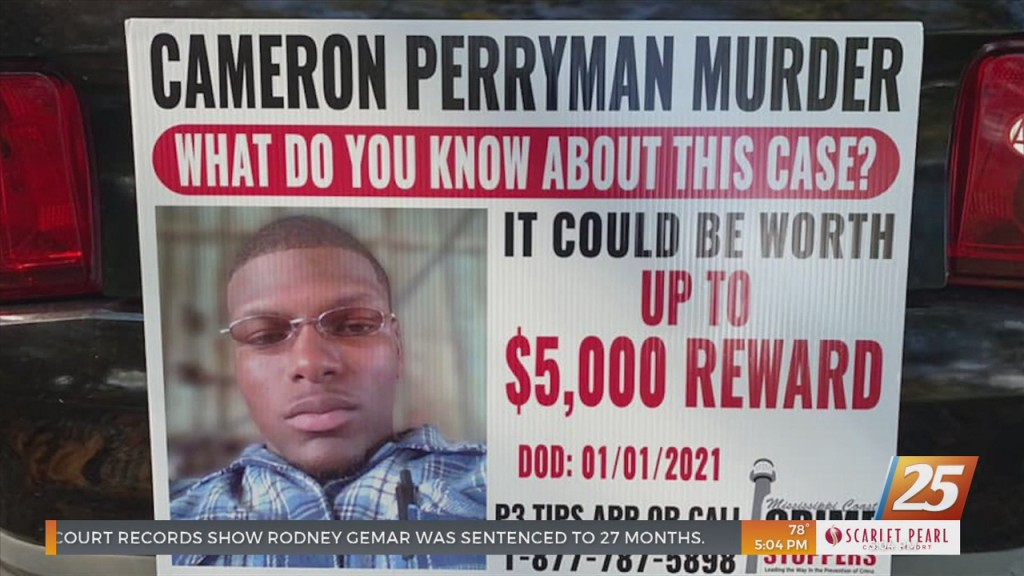Coast Crime Stoppers Raising Award To Help Solve Cameron Perryman Case