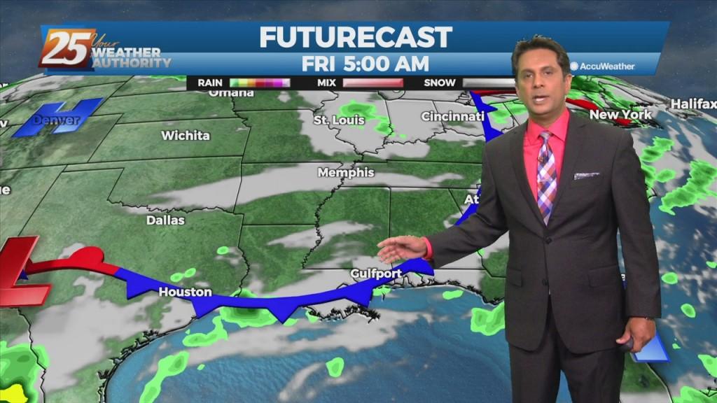 """10/21 Rob's """"warm & Humid"""" Thursday Morning Forecast"""