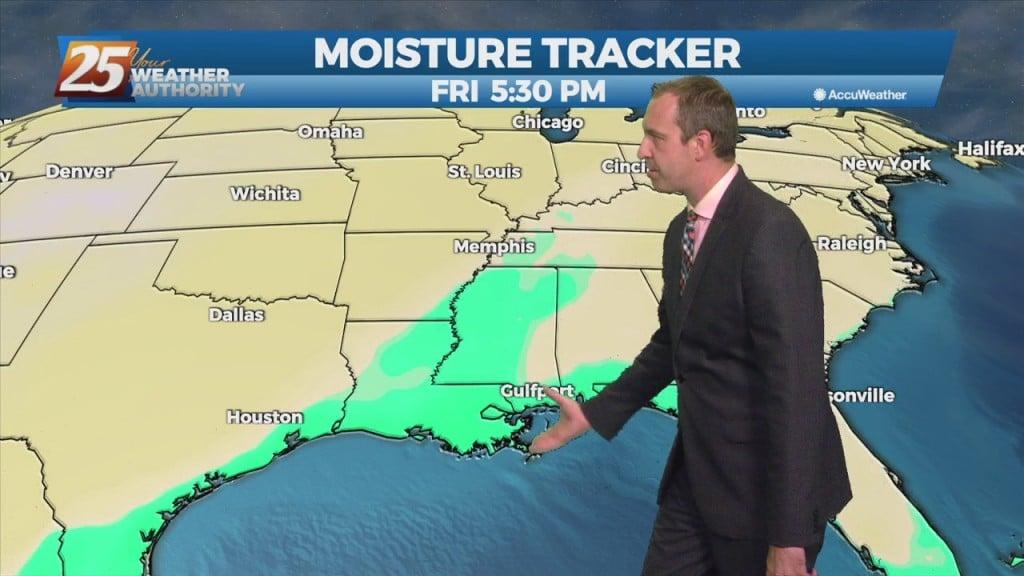 "10/13 Ryan's ""rising Humidity"" Wednesday Evening Forecast"