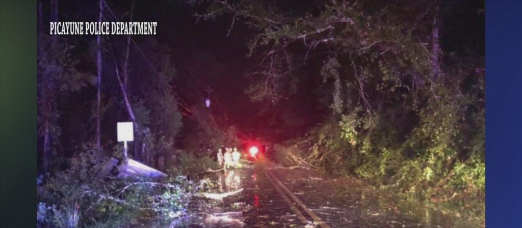 Apparent Tornado Touches Down In Picayune