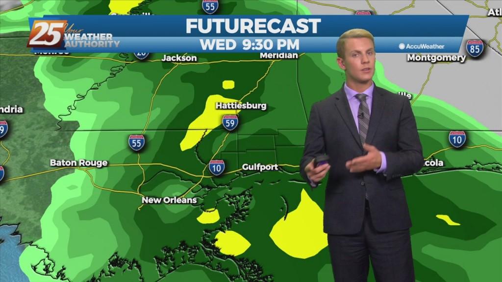 """10/24 – Brantly's """"warm"""" Sunday Night Forecast"""
