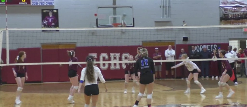 High School Volleyball: East Central Vs. Vancleave