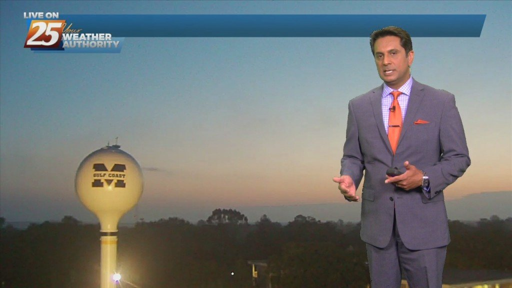 """10/22 Rob's """"sunny & Warm"""" Friday Morning Forecast"""