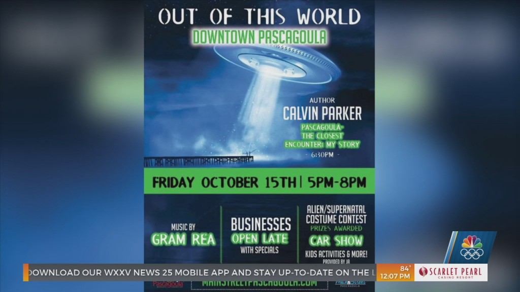 Third Friday Brings An Out Of This World Experience To Pascagoula