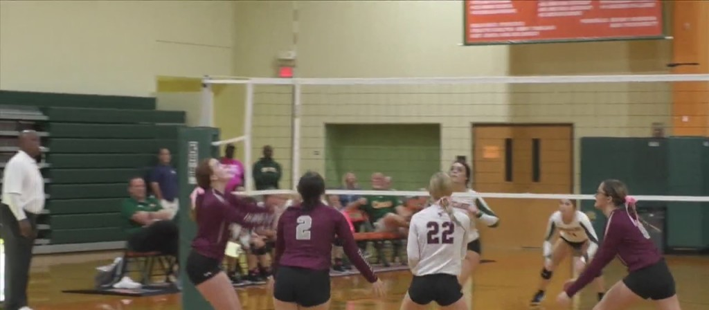 High School Volleyball: West Harrison Vs. East Central