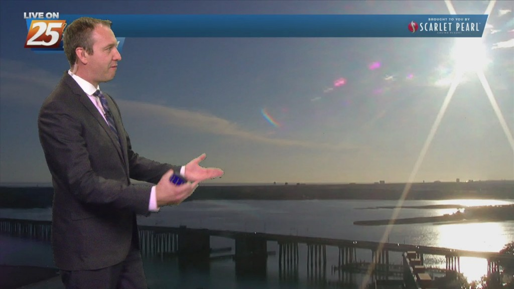 """10/21 Ryan's """"cold Front"""" Thursday Evening Forecast"""