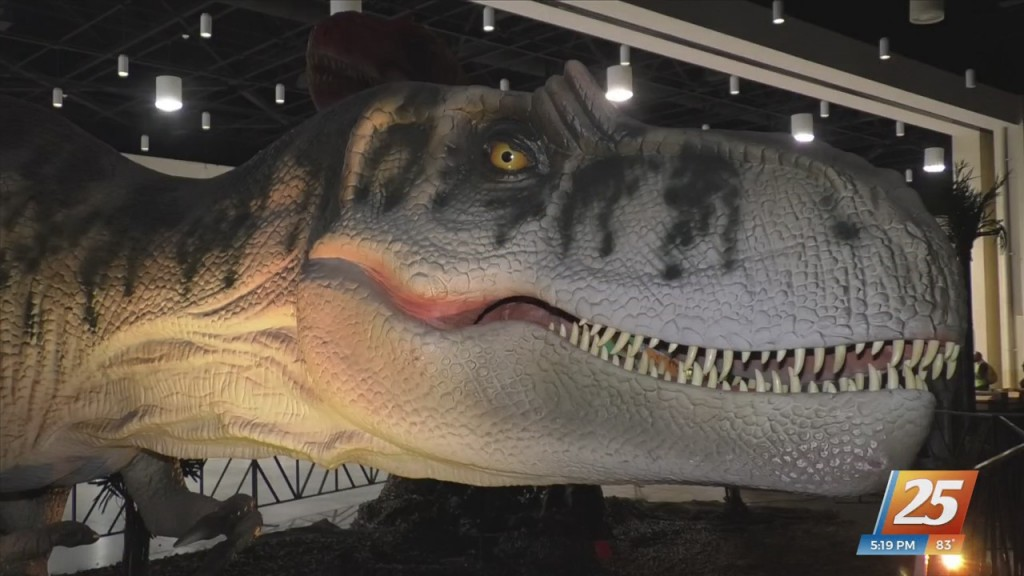 Jurassic Quest Coming To The Coast Convention Center