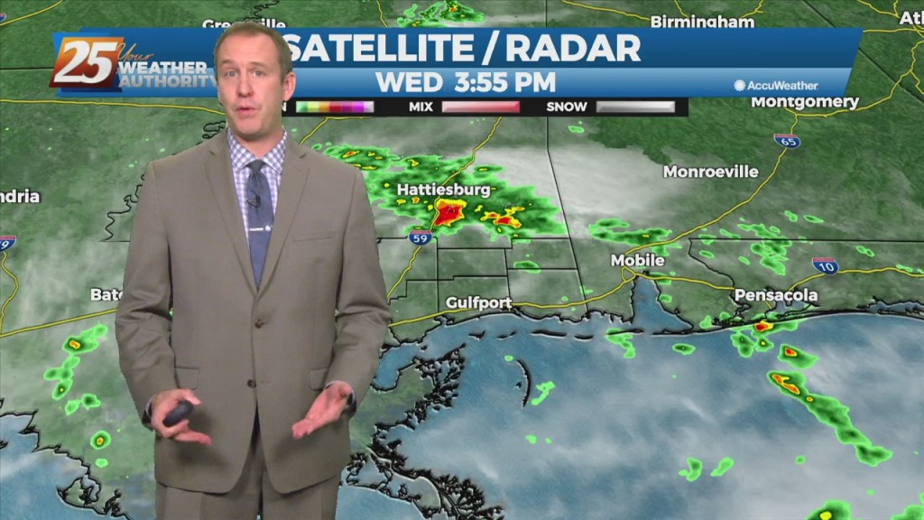 "10/20 Ryan's ""wet"" Wednesday Evening Forecast"