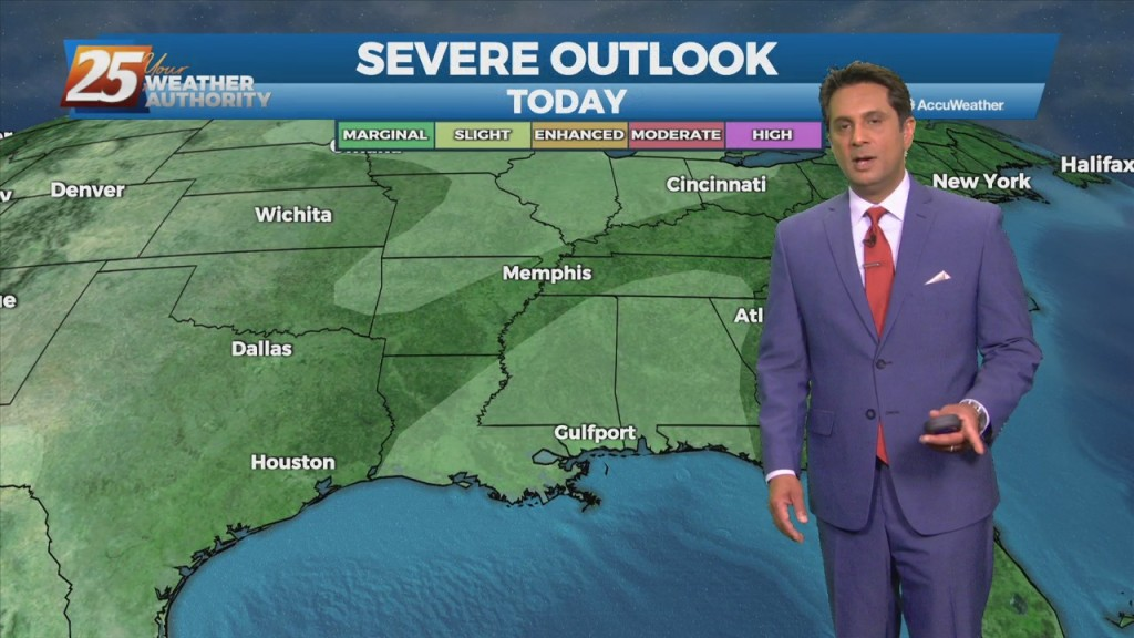 """10/20 Rob Knight's """"rain Moving In"""" Wednesday Morning Forecast"""