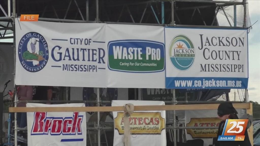 Gautier Mullet Fest Takes Place Saturday