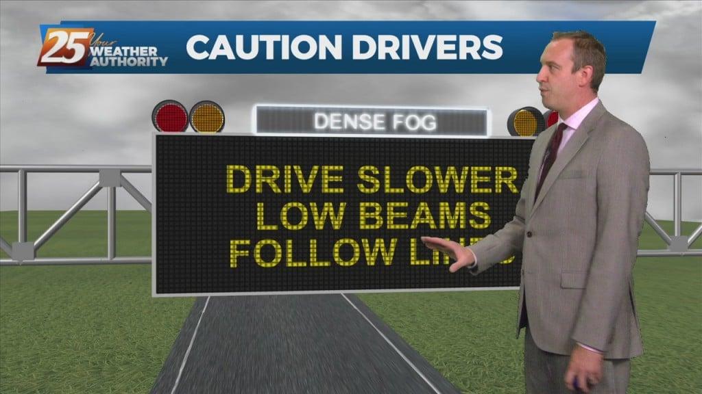 "10/14 Ryan's ""foggy"" Thursday Night Forecast"