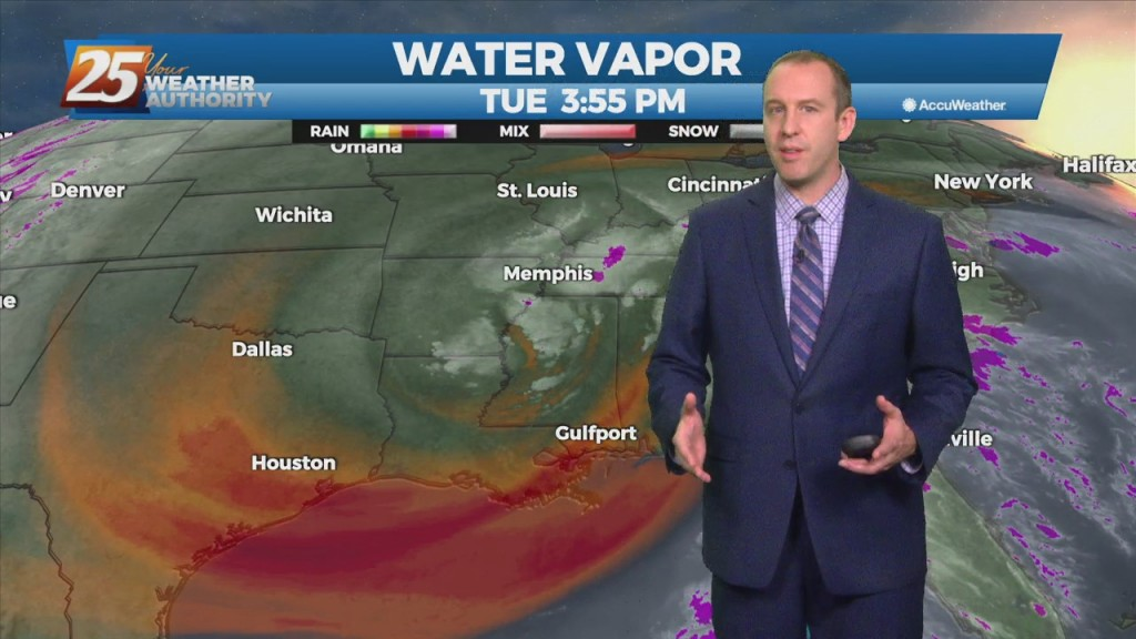 """10/05 Ryan's """"much Drier"""" Tuesday Evening Forecast"""