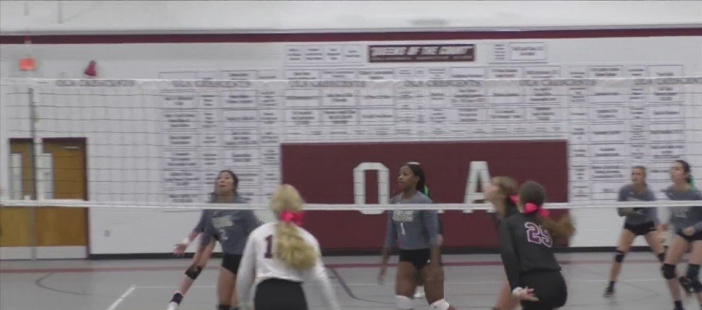 High School Volleyball: Our Lady Academy Vs. St. Patrick