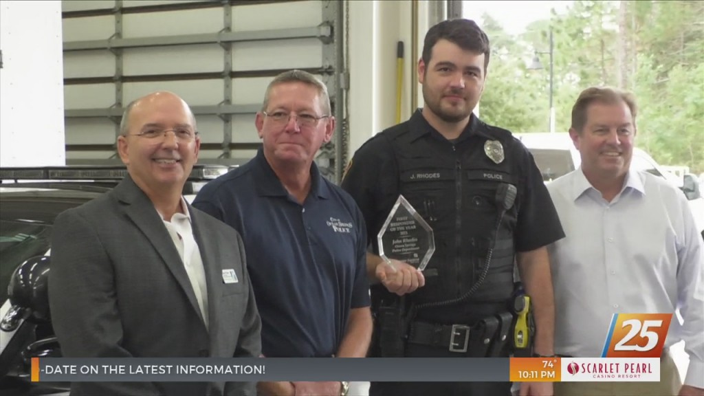 Keesler Federal Honors First Responder Of The Year
