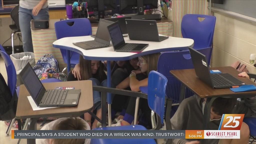 Mississippi Coast Participates In Earthquake Drill