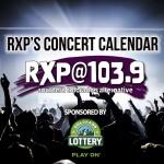 RXP's Concert Calendar