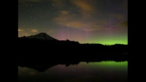 Aurora possibly visible Monday night across Eastern Washington