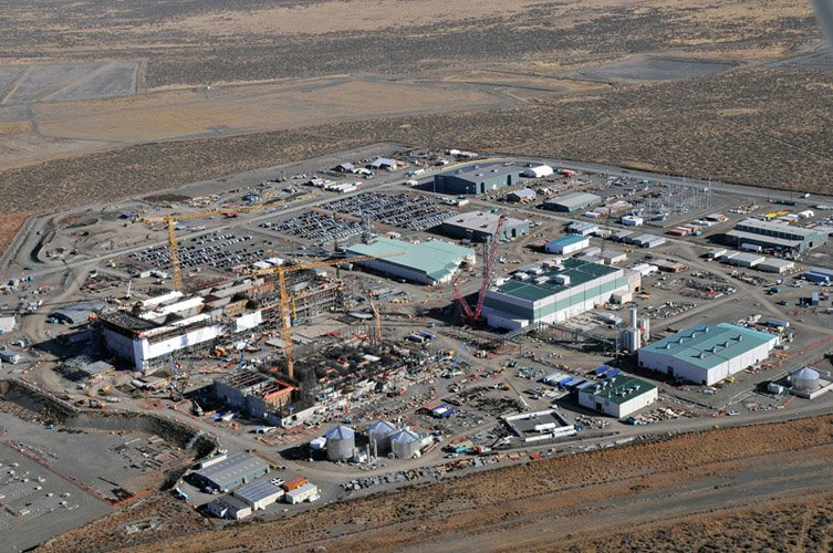 Hanford waste treatment plant site now has permanent power