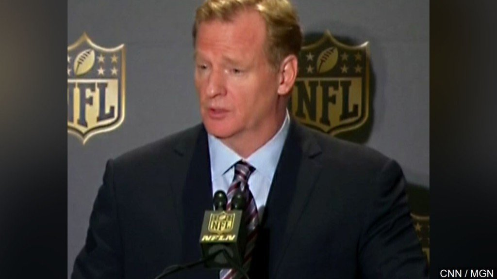 NFL's Twitter account hacked, said commish Roger Goodell died