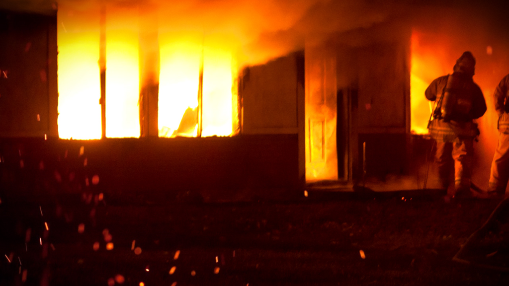Early morning fire sends two to Seattle with severe burns, smoke inhalation