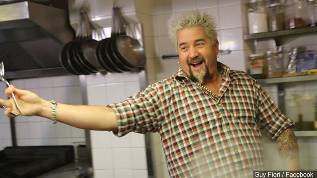 Guy Fieri has arrived in the Tri-Cities