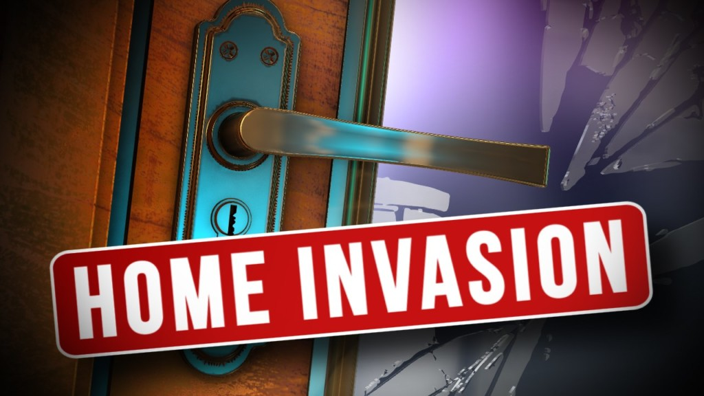 Suspects on the loose after home invasion