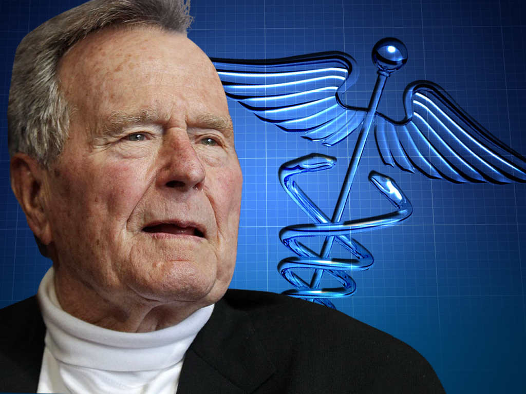 President George H.W. Bush to be moved out of ICU